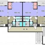 各階2部屋(間取)