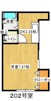 2階南側(間取)