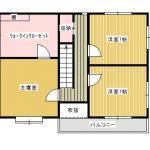 2階間取り図(間取)