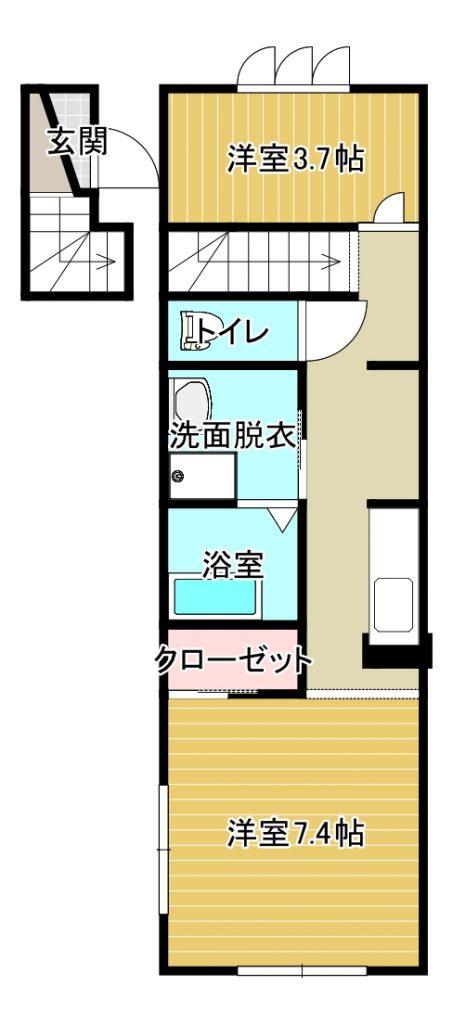 1R+S(間取)