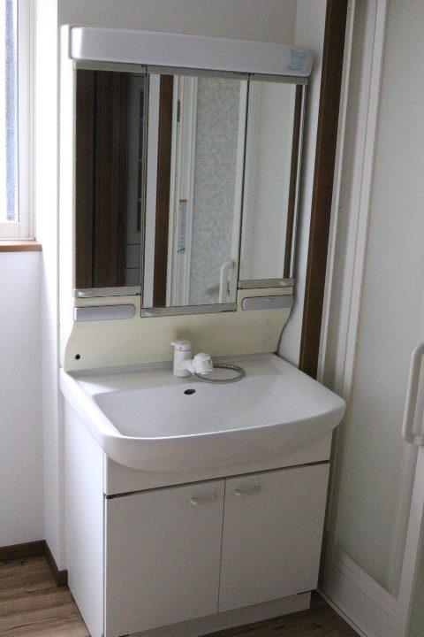 三面鏡型化粧台(風呂)